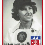 "Sarah Jane ""Salty"" Sands Ferguson is in A League of Her Own"